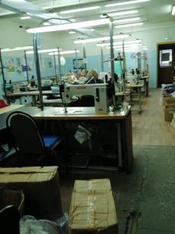 Швейный цех производителя ДСК.