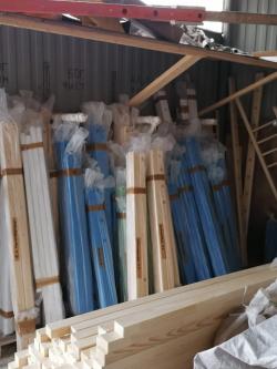 Подготовка к упаковке партии ДСК. Фото с производства
